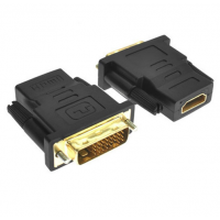 ADAPTADOR DVI 24+1 A HDMI MACHO HEMBRA