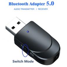 Adaptador Audio Kebidu Receptor USB con Bluetooth 5.0 Cable jack M/M