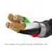 Cable USBC Baseus 3A tipo C con iluminacion 1M USB-C