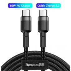 CABLE BASEUS USBC A USBC 60W 20V A 3A - 1M
