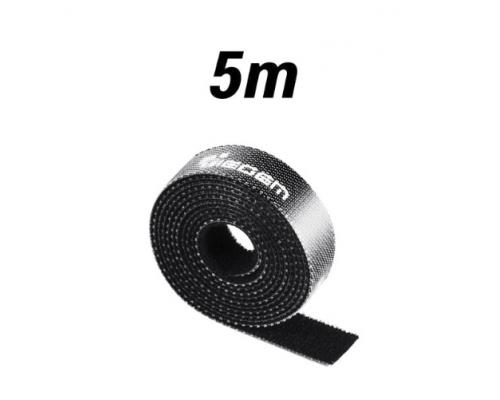 CINTA PARA ORGANIZAR CABLES ROCKETEK 5M