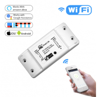 DIY WiFi interruptor de luz inteligente Universal APP Control remoto inalambrico