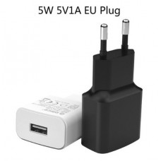 CARGADOR ORICO 5V / 1A 5W USB BLANCO
