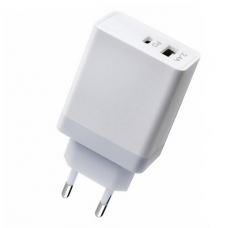 CARGADOR PD 30W 2.4A PARA MACBOOK/IPHONE X/O PLUS, XIAOMI, SAMSUNG, LG