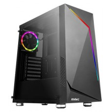 CAJA GAMING ANTEC NX300 ATX 2XUSB2.0 1XUSB3.0 SIN FUENTE NEGRO ARGB