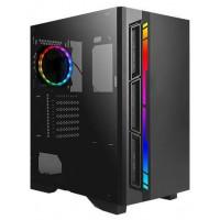 CAJA GAMING ANTEC NX400 ATX 2XUSB2.0 1XUSB3.0 SIN FUENTE NEG RGB