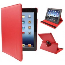 Funda COOL para iPad 2 / iPad 3 / 4 Giratoria Polipiel color Rojo (Soporte)