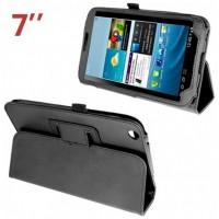 Funda COOL para Samsung Galaxy Tab 3 P3200 Polipiel Negra 7 pulg