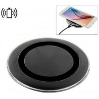 Dock Base Cargador Smartphones Inalámbrico Qi COOL Universal Negro