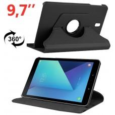 Funda COOL para Samsung Galaxy Tab S3 T820 / T825 Polipiel Negro 9.7 pulg