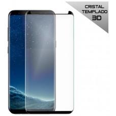 Protector Pantalla Cristal Templado Samsung G955 Galaxy S8 Plus (Curvo Borde Negro)