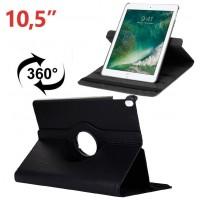 Funda COOL para iPad Pro 10.5 / iPad Air 2019 10.5 Giratoria Polipiel Negro