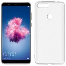 Funda Silicona Huawei P Smart (Transparente)