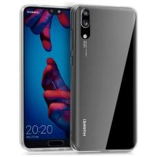 Funda Silicona Huawei P20 (Transparente)