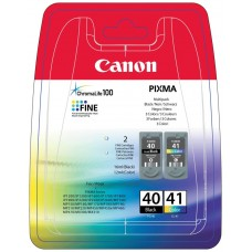 Canon Pack 2 Cartuchos  PG40+CL41 (Espera 3 dias)