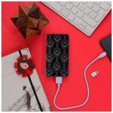 Bateria Externa Micro-usb Power Bank 5000 mAh Design Skully YZSY