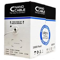 Bobina Cable Red RJ45 Cat.6 FTP 305 Mts 100% Cobre
