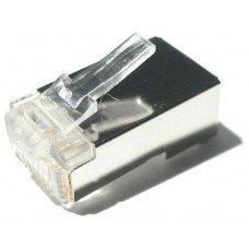 CONECTOR RJ45 8 HILOS FTP CAT.6 (10