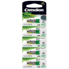 Pila Alcalina LR27A 12V 0% Mercurio (5 pcs) Camelion