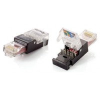 KIT 2 UNIDADES CONECTOR RJ45 EQUIP CAT6 TOOLFREE NO