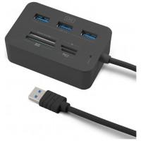 LECTOR DE TARJETAS 1LIFE CR: COMPLETE USB 3.0 NEGRO