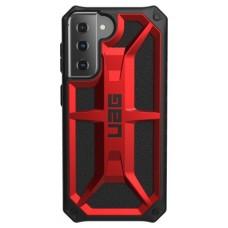 "Urban Armor Gear Monarch series funda para teléfono móvil 15,8 cm (6.2"") Negro, Rojo (Espera 4 dias)"