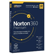 NORTON 360 PREMIUM 75GB ES 1 USER 10 DEVICE 12MO BOX