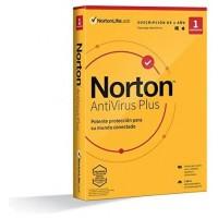 NORTON ANTIVIRUS PLUS 2GB ES 1 USER 1 DEVICE 12MO  BOX