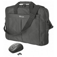 "Trust Primo maletines para portátil 40,6 cm (16"") Maletín Negro (Espera 4 dias)"