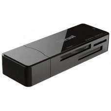 LECTOR DE TARJETAS EXTERNO TRUST NANGA USB 2.0 ADMITE