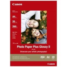 Papel CANON PP-201 20h.A4 210x297mm260gr. fotografico (Espera 3 dias)