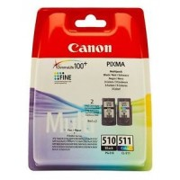 CARTUCHO CANON PG-510-CL-511 PIXMA MP230-237-252 P