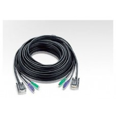 Aten KVM 5m cable cable para video, teclado y ratón (kvm) Negro 10 m (Espera 4 dias)