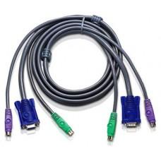 Aten 2L5005P cable para video, teclado y ratón (kvm) 5 m (Espera 4 dias)