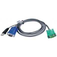Aten 2L5205U cable para video, teclado y ratón (kvm) Negro 5 m (Espera 4 dias)