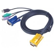 Aten Cable KVM PS/2-USB de 3 m (Espera 4 dias)