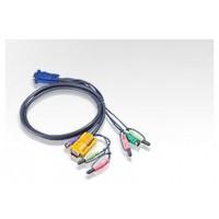 Aten Cable KVM PS/2 con audio y SPHD 3 en 1 de 5 m (Espera 4 dias)