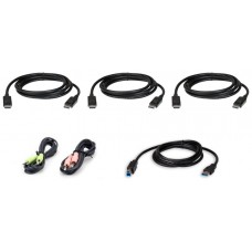 Aten 2L-7D02UDPX6 cable para video, teclado y ratón (kvm) Negro 1,8 m (Espera 4 dias)