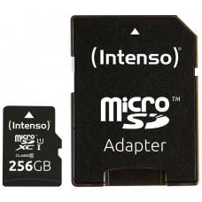 Intenso 3423492 Micro SD UHS-I Premium 256G c/adap