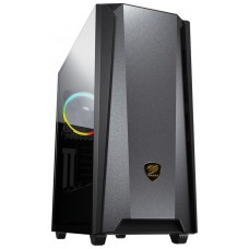CAJA  ATX SEMITORRE COUGAR MX660 IRON RGB DARK BLACK