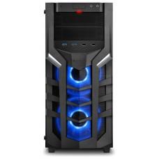 CAJA ATX SHARKOON DG7000-G 2XUSB3.0 2XUSB2.0 SIN FUENTE RGB