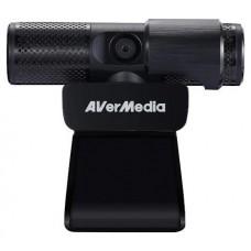 AVerMedia PW313 cámara web 2 MP 1920 x 1080 Pixeles USB 2.0 Negro (Espera 4 dias)