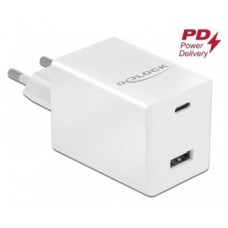 Delock Cargador de USB Type -CT PD 3.0 y USB A