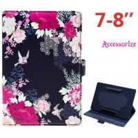 Funda COOL Ebook / Tablet 7 pulgadas Universal Licencia Accessorize Flores