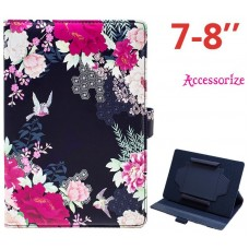 Funda COOL Ebook / Tablet 7 pulgadas Universal Licencia Accessorize Flores