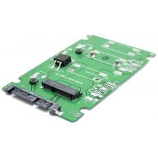 """Adaptador Convertidor M SATA SSD a SATA 2.5"""" (Espera 2 dias)"""