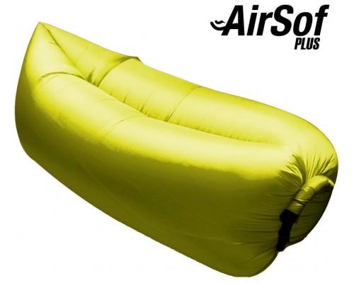 Sofá Hinchable AirSof Plus Amarillo (Espera 2 dias)