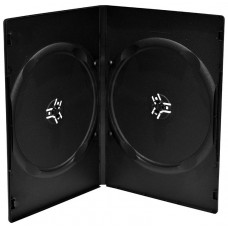 Funda CD/DVD Doble Standar Negra (Espera 2 dias)