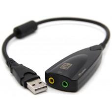 Adaptador Externo Tarjeta Sonido USB 5HV2 (Espera 2 dias)