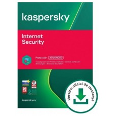Kaspersky Internet Security: 5 Dispositivos / 1 año (Espera 2 dias)